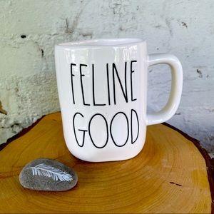 Rae Dunn Feline Good Mug NWT
